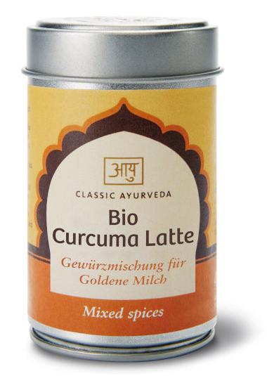 Curcuma Latte, Gewürzmischung, Bio, 50 g