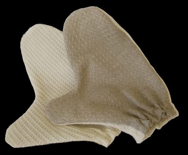 Leinenhandschuh Double-Face, 1 Paar