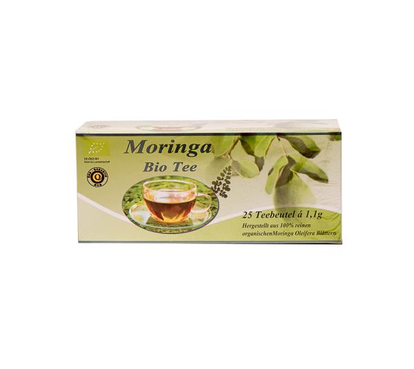 Moringa Oleifera Teebeutel á 25 Stk., Bio, 27,5 g