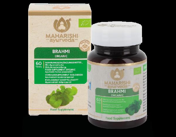 Brahmi, Bio, 60 Tbl., 30 g