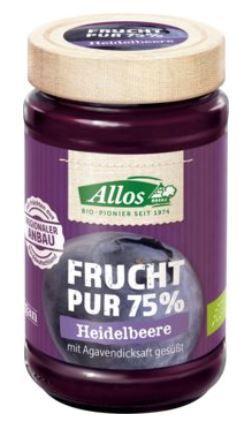 Frucht Pur Heidelbeere, Bio, 250 g