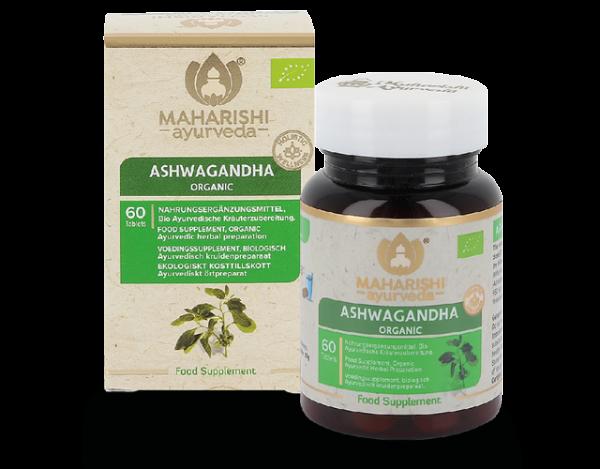 Ashwagandha, Bio, 60 Tbl., 30 g