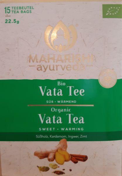 Tee Vata 15 Beutel, Bio, 22,5 g