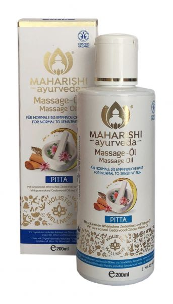 Massageöl Pitta, kNk, vegan, 200 ml