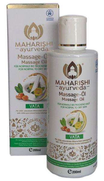 Massageöl Vata, kNk, vegan, 200 ml