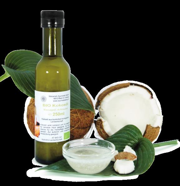 Kokosöl duftneutral in der Flasche, Bio, 250 ml