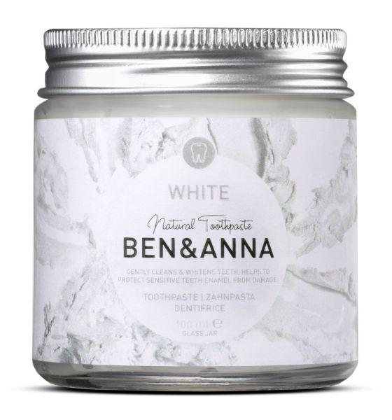 Zahnpaste Ben&Anna, Whitening, vegan, 100 ml